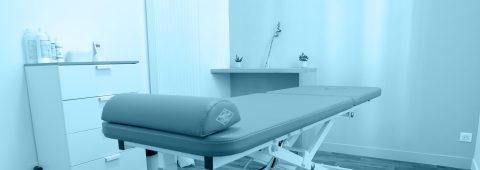 Salles de soins individuelles.